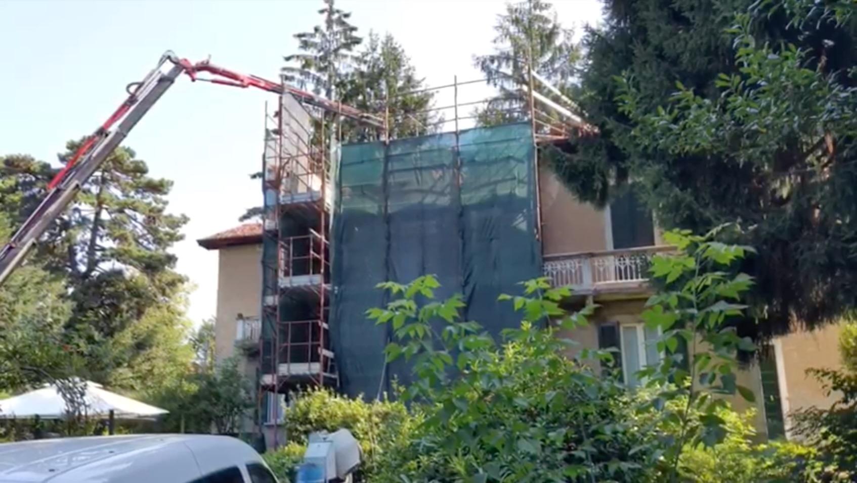 Cantiere A Casbeno (Varese)
